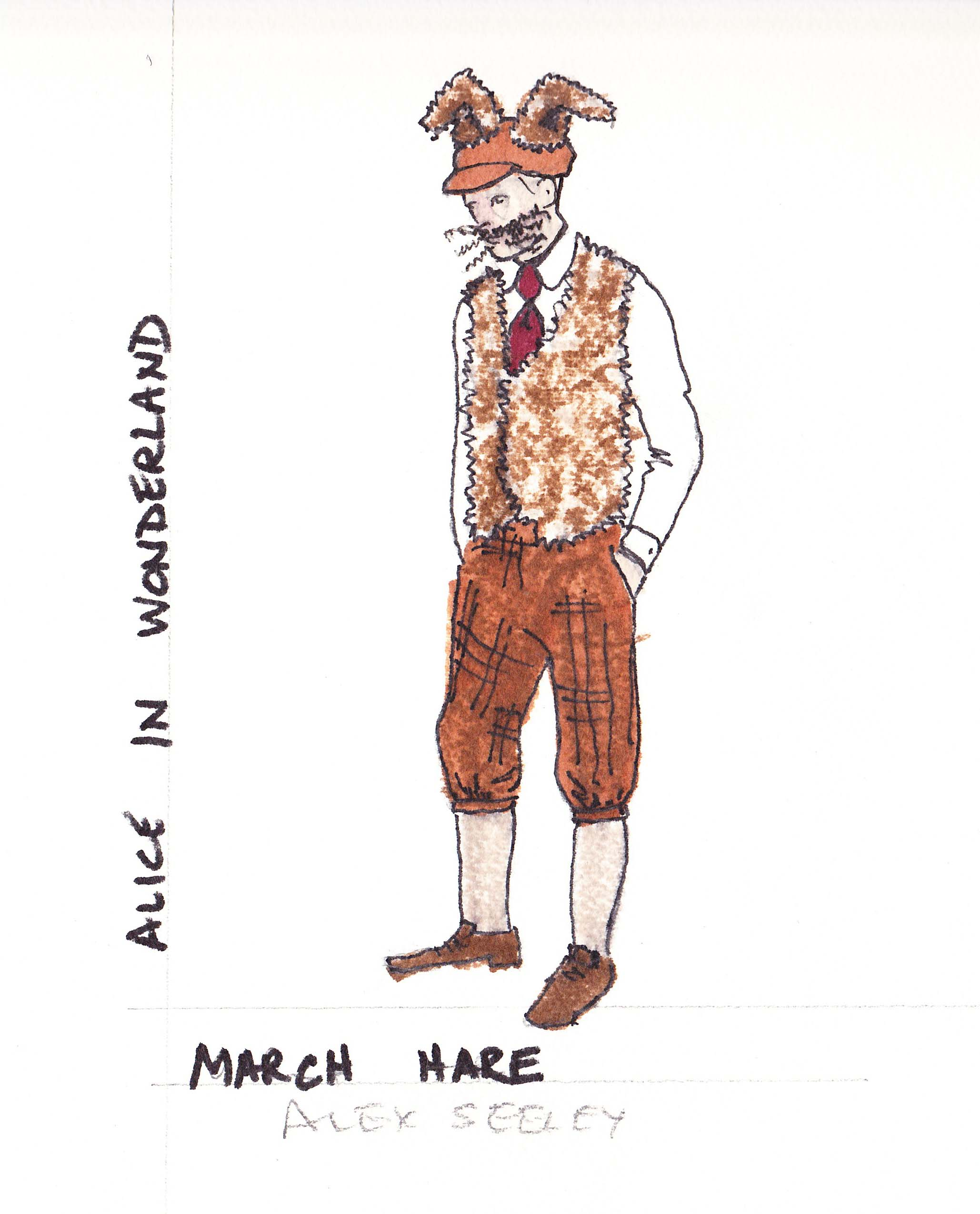 March Hare Alice In Wonderland: The Yellow Brick Road