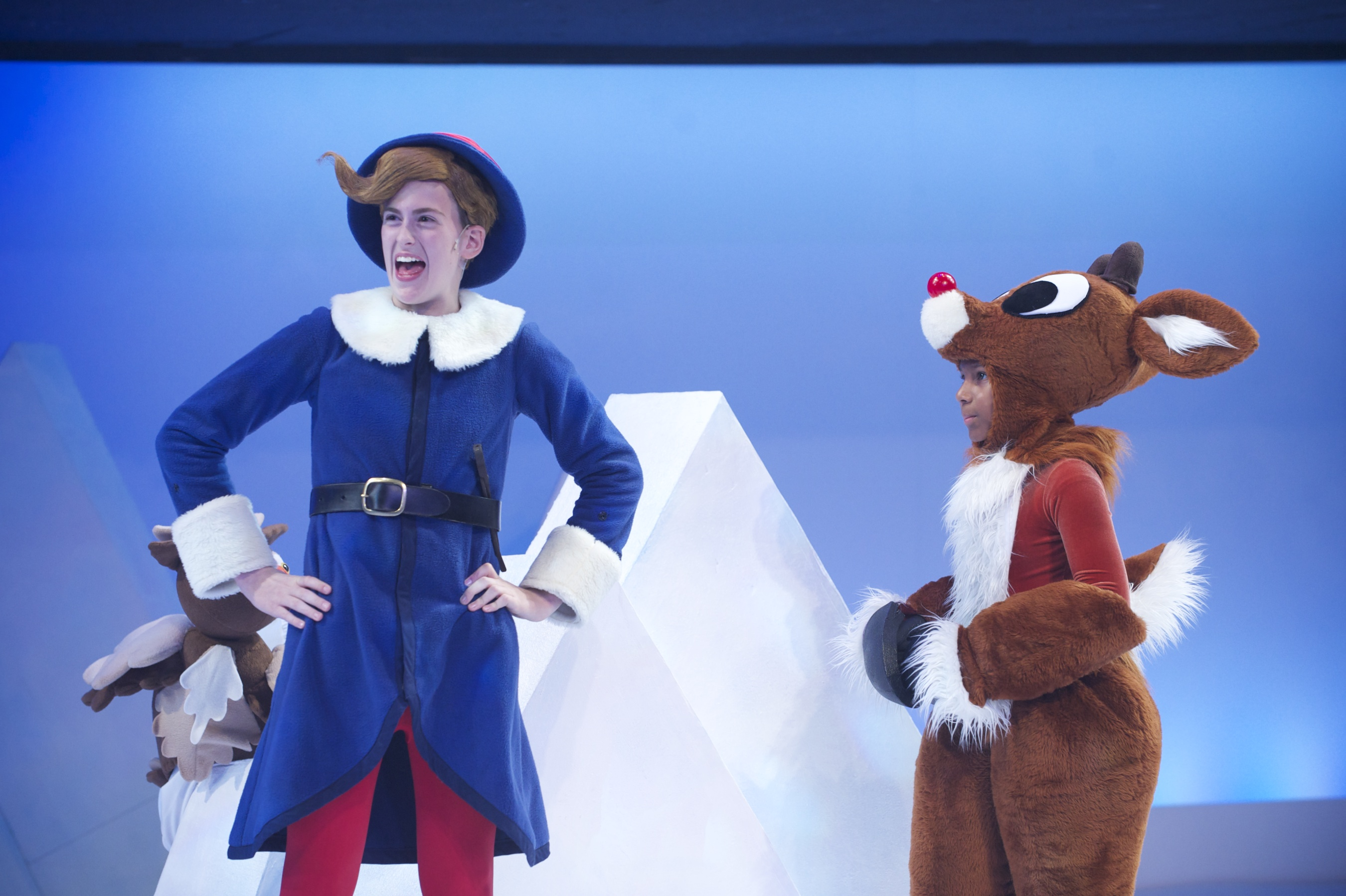 Announcing rudolph the red nosed reindeer 174 the yellow brick road